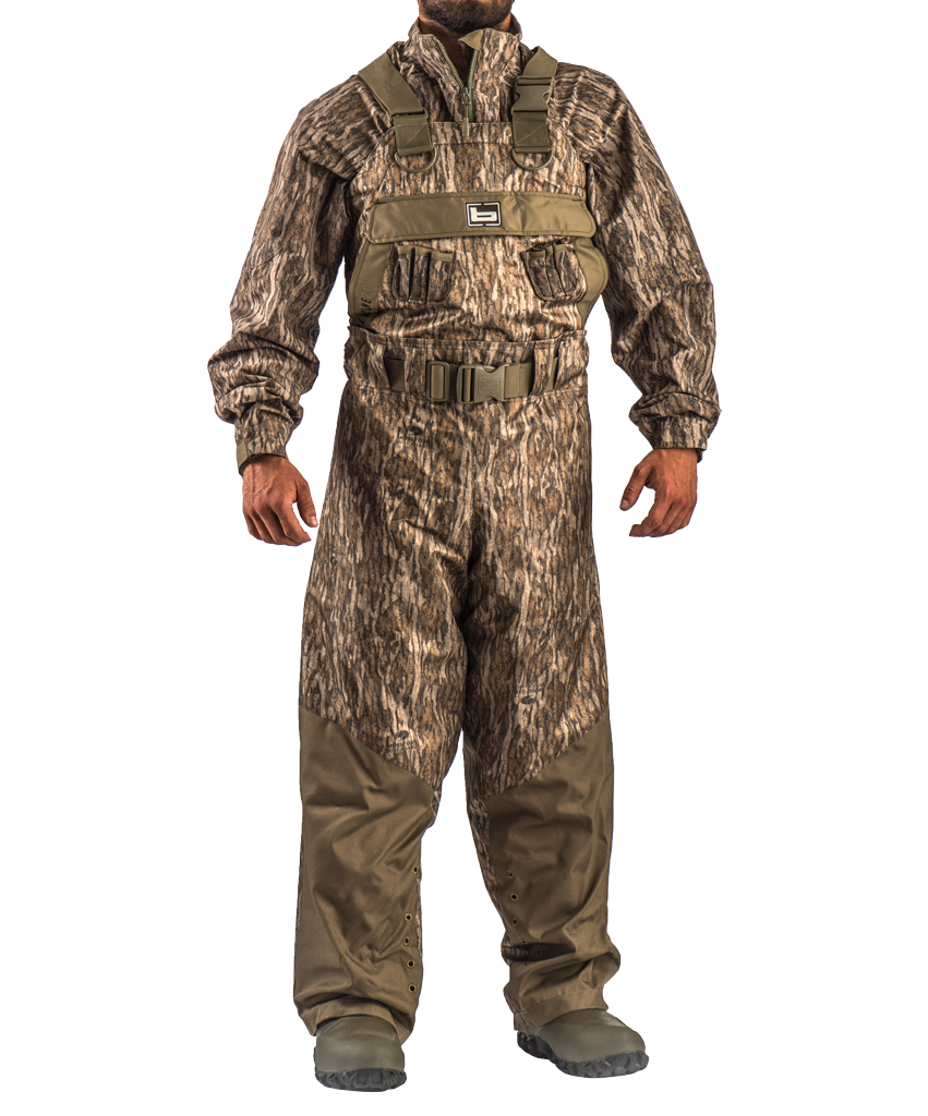 NEW BANDED REDZONE BREATHABLE UNINSULATED CHEST WADERS BLADES CAMO SIZE 13