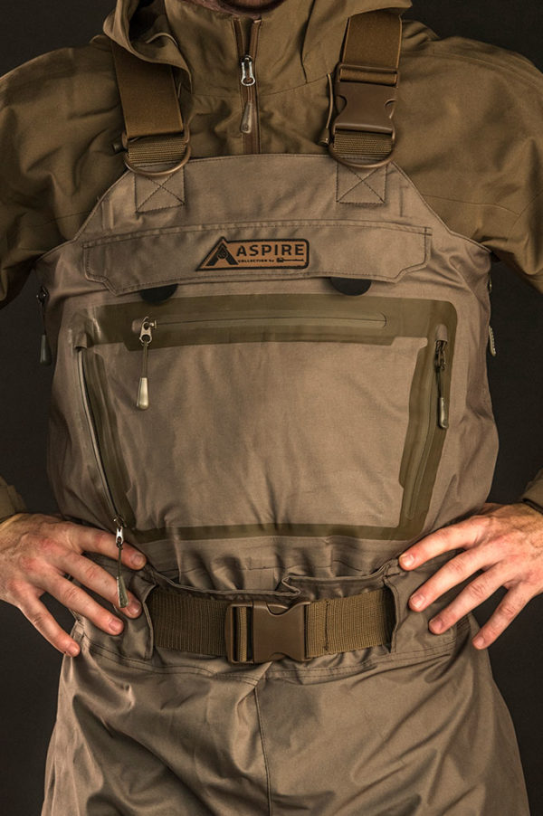 Banded Aspire Collection Catalyst All-Season Breathable Wader in Crocodile Brown Color